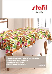 Washable table linen collection 2019