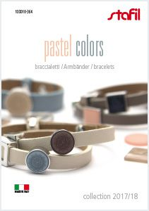 Bracelets Pastel colors