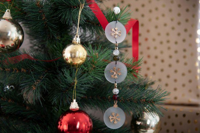 Stella Di Natale Big Shot.Catena Per Albero Di Natale Con Stella 3068 Stafil Ricamo