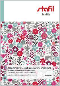 Assortment of american patchwork fabrics