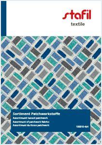 100010-454 Assortment of patchwork fabrics