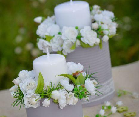 Florale Tischdeko #3078 Titel