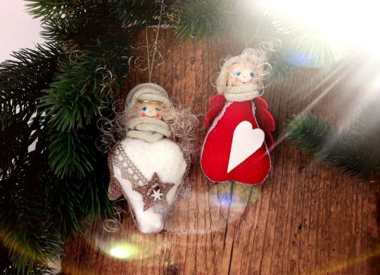 Weihnachtsengel aus Strickloops #3088 Titel